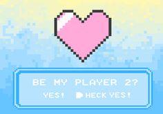 Ele criou um jogo de videogame para pedir a namorada em casamento