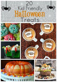 20 Kid Friendly Halloween Treats - Lipgloss and High Heels - love the Monster Eye Cookies