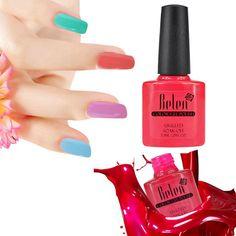 Belen UV Gel Polish Nail Polish 7.3ML  Gel Lacquer Top Manicure Nails Drop Shipping Soak Off Color Vernis Semi Permanent
