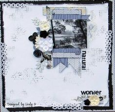 Natural Wonder - MME cut & paste 'Charm' - Layout Gallery
