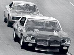David Pearson Pontiac GTO  Stock Car Racing Magazine