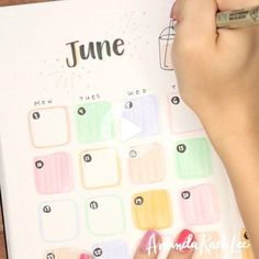 June plan with me + bullet journal setup is live on my YT channel and it's the theme you've all been waiting for 👀 I love love love the way… #bulletjournalideas Creating A Bullet Journal, Bullet Journal Travel, Bullet Journal Cover Ideas, Bullet Journal Monthly Spread, Bullet Journal How To Start A, Bullet Journal Notebook, Bullet Journal Aesthetic, Bullet Journal Ideas Pages, Bullet Journal Inspiration