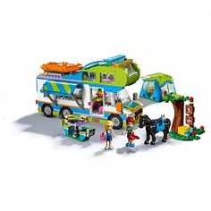 Buy LEGO Friends 41339 Mia's Camper Van from our Construction Toys range at John Lewis & Partners. Lego Camper, Camper Van, Legos, Lego Friends Sets, Friends Girls, Lego Dinosaur, Disney Princess Backpack, Van Lego, Best Electric Scooter