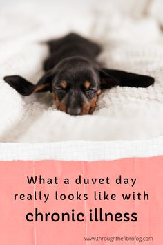 The reality of a duvet day when you live with chronic illness and tips to help from getting bored