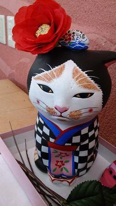伊豆大島のゆるキャラ、あんこ猫