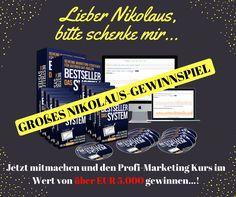 Nimm am Gewinnspiel teil und gewinne Das Bestseller System, ein Profi-Marketing Kurs im Wert von über €5.000...! Mit ihrer Launch-Strategie launchen die Herausgeber ihre Bücher mit €2.500+ im ersten Monat.