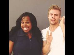 Amber Riley and Derek Hough~ Roughley
