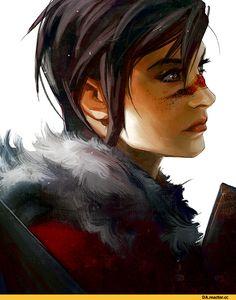 Dragon Age,фэндомы,Dragon Age 2,FemHawke,DA персонажи,crystalgraziano