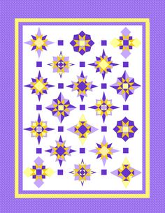 Little Bunny Quilts: Starburst Quilt Along Week #1 -- Block #1 and fabric requirements