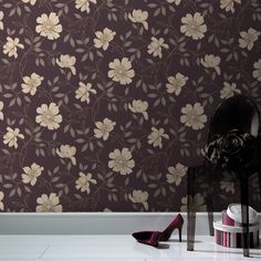 Buy your Graham & Brown Purple Amethyst Camille Wallpaper online now at House of Fraser. Metallic Wallpaper, Luxury Wallpaper, Purple Wallpaper, Modern Wallpaper, Blue Wallpapers, Home Wallpaper, Wallpaper Online, House Of Fraser, Purple Amethyst