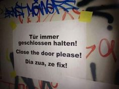 Für Fremde sprechen sie sogar Englisch – wenn es sein muss. | 24 Fotos, die Bayern raffen, aber den Rest Deutschlands total verwirren