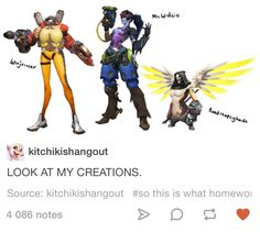 Overwatch Tumblr post | Fusion is a cheap tactic to make weak heroes stronger