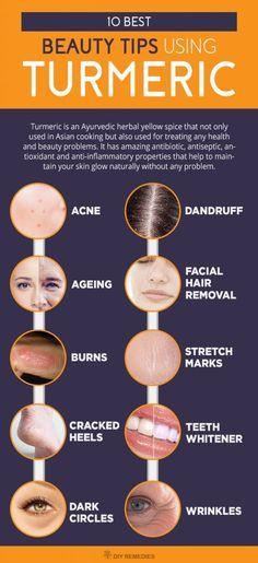 Best Beauty Tips using Turmeric