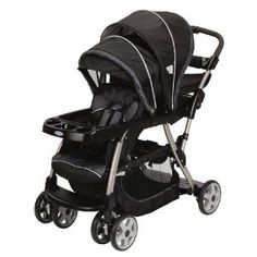This is the best stroller out there! Accommodates infant car seats and has the toddler sit/stand option! I love it! :)