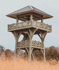 Garden Structures, Outdoor Structures, Civil Engineering Construction, Lookout Tower, Post And Beam, Building Structure, Fortification, Play Houses, Wood Projects