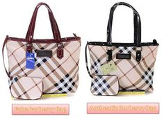 How to spot fake Burberry handbags - train your eye to tell the difference! ecc8639743c26