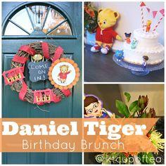A Daniel Tiger Birthday Brunch