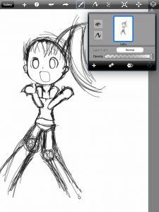 Tutorial- drawing (manga) using Procreate