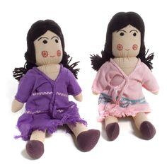 """Karen """"Friends Dolls"""" from the Thai-Burmese Border"""