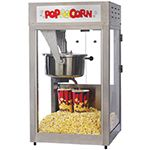 Super Pop Maxx Popcorn Machine w/ 16-oz Kettle, Counter Model, Stainless