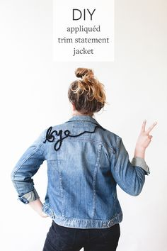 Joanna shares her fab scrapbusting refashion for easily creating an embroidered statement jean jacket over on jojotastic: Got a groovy refashion to share? How about a funky upcycled accessory or de…