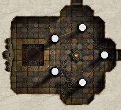 Salt Hall - Green Chamber by dasomerville.deviantart.com on @DeviantArt…