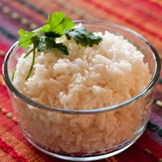 Pressure Cooker White Rice    Rice, white, cooked in unsalted water, 1 cup after cooking= 234 cal, 3mg sodium and 89 mg potassium