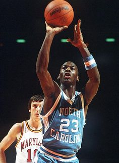 Michael Jordan originally from New York, but grew up in North Carolina and played for UNC Tarheels!
