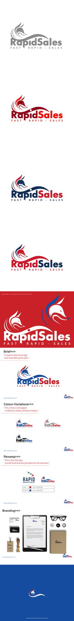 Created this logo for a construction company called Rapid Sales. Did the branding and look and feel Sale Logo, Behance, Branding, Feelings, Logos, Design, Brand Management, Brand Identity, Branding Design
