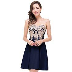 d56d77e2b56 Broderie de dentelle Voile 2018 nouveau Femmes élégant courte robe parti  proms pour gratuating date cérémonie gala robes cocktails up 68 dans Robes  de ...