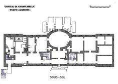 champlatreux plan - Google Search