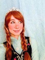 Anna #frozen #frozenanna #elsa #anna #disney #cosplay #cosplayer #disneyprincess #photography #model #hair #life #paris #vintage #fairy #tinkerbell #sinarose #deviantart #art #custome #cinderella2015