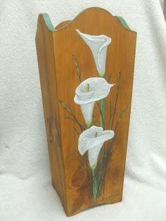 Resultado de imagen de paragueros pintados a mano