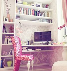 Love this chair! It would be great for my craft room.