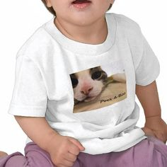 Peek-A-Boo Infant T-shirt by Robyn King available through Byrdsnest at zazzle.com