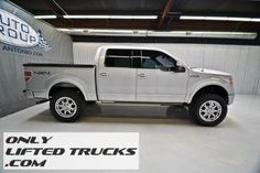 2009 Ford F150 Super Crew Platinum 4WD Lifted Truck