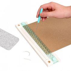 Nástroj na výrobu presných dier We R Memory Keepers - Pomôcky a nástroje - Scrapbooking - Kreatívny materiál We R Memory Keepers, Bound Book, Book Binding, Book Journal, Punch, Memories, Books, Paper Book, Crafting