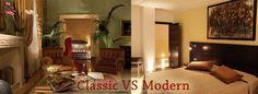 Classic vs Modern: which style for a hotel? http://marchi-interiordesign.com/hotel-interior-design/
