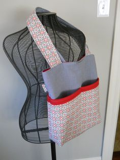 DIY: tote bag with outer pockets