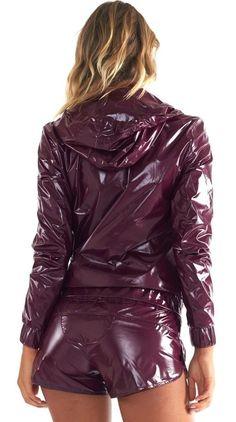 Shiny Nylon Jacket