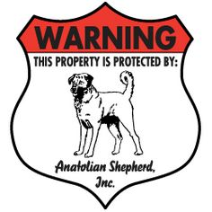 Property protected by Rough Collie dog with attitude metal aluminum sign
