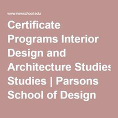 1000 images about school lesson plan ideas on pinterest lesson plans my plate and nutrition for Interior design certificate programs online