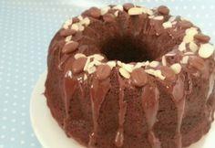 Brownie kuglóf Ring Cake, Cake Cookies, Scones, Doughnut, Tiramisu, Bakery, Muffin, Goodies, Food And Drink