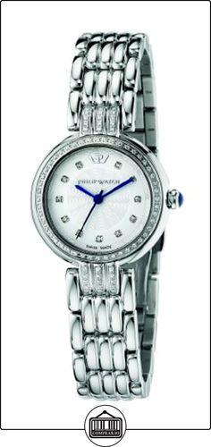 Philip Watch GINEVRA R8253491504 - Reloj para mujeres, correa de acero inoxidable color plateado  ✿ Relojes para mujer - (Lujo) ✿