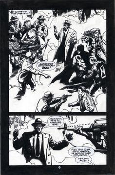 Challengers 12 p.05, All art by John Paul Leon-pencils and Bill Reinhold-inks, Written by Steven Grant