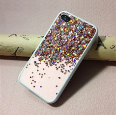 iPhone 5c Case,  iPhone 5s Case,skin case for iphone 5s case,More Phone Covers,Hard Plastic - NOT REAL Glitter
