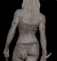 Shanna the She-Devil, Will Harbottle on ArtStation at https://www.artstation.com/artwork/shanna-the-she-devil