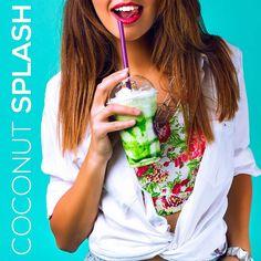 Try #Coconutsplash product - Óleo de coco Puxando #coconutoil #whiteteeth #beautifulsmile #oilpulling  #coconutoilpulling  ÓleodecocoPuxando