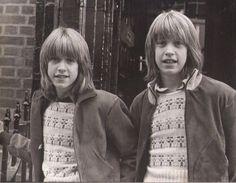 ANDY & DAVID WILLIAMS vintage photo lot 4 8x10 press photos, 70's teen idols