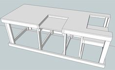 Router and Saw Table. With a few modifications, i think this will work quite nicely.